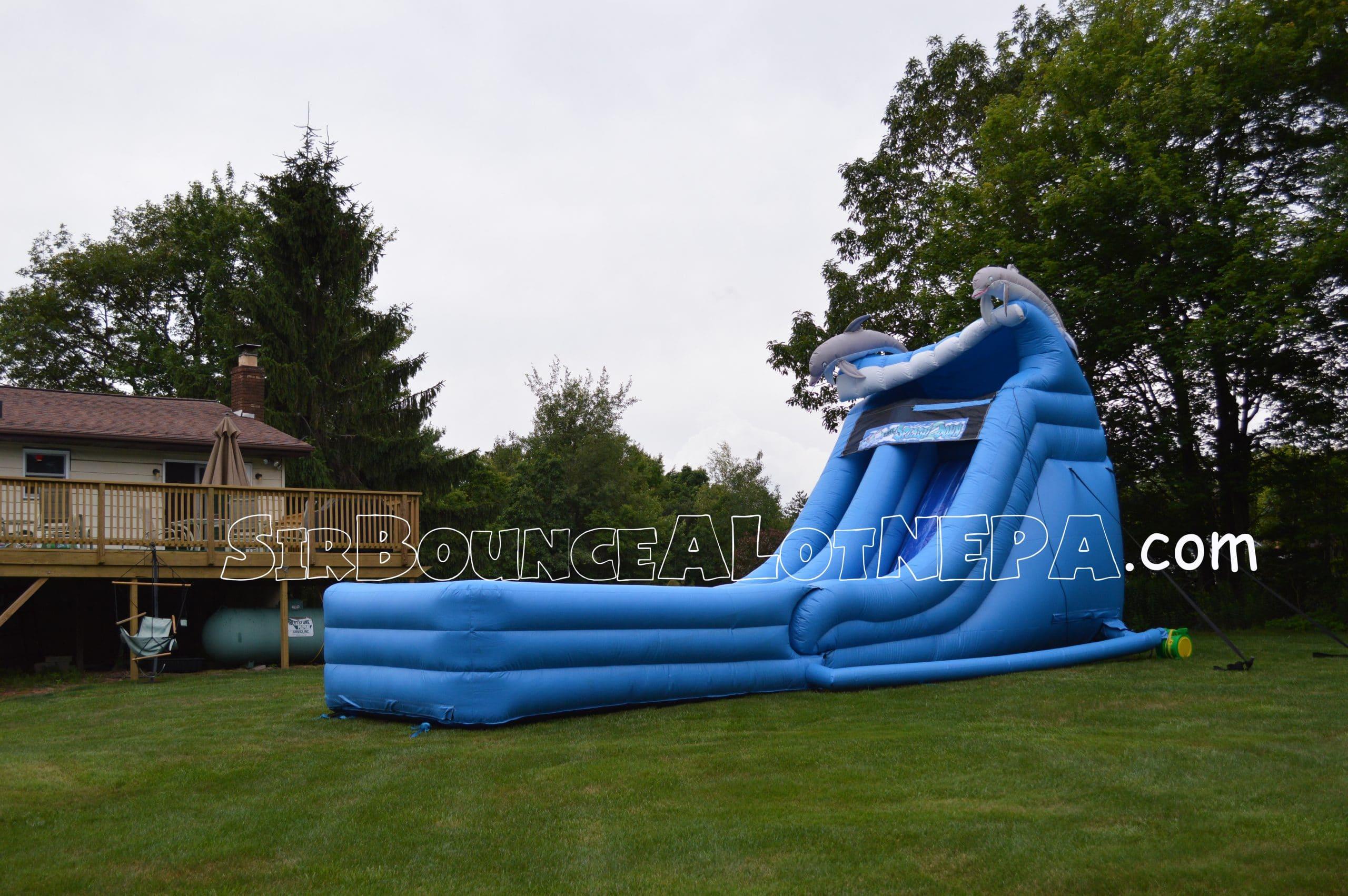 Super Splash Down Slide