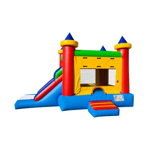 Castle Combo Bounce House rentals in the Scranton Wilkes Barre area