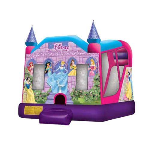 Disney Princess Combo Bounce House rentals in the Scranton Wilkes Barre area