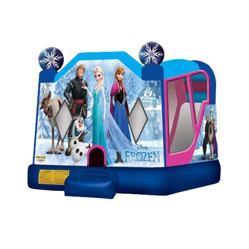 Disney Frozen Combo Bounce House rentals in the Scranton Wilkes Barre area