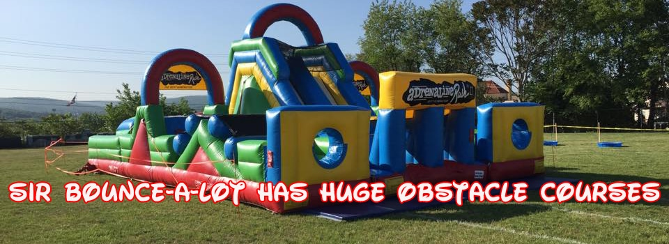 Large Obstacle Course Rentals