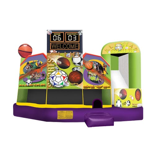 Sports Combo Bounce House rentals in the Scranton Wilkes Barre area