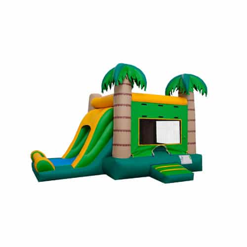 Tropical Combo Bounce House rentals in the Scranton Wilkes Barre area
