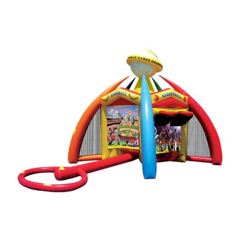 World Sports Game interactive inflatable rentals in the Scranton Wilkes Barre area