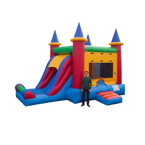 Castle combo bounce house available for rent in the Scranton Wilkes Barre area from Sir Bounce-A-Lot